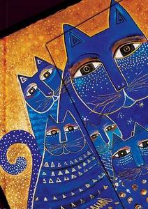 Cartoleria Diario a Righe Laurel Burch Felini Fantastici Gatti Mediterranei Midi Paperblanks