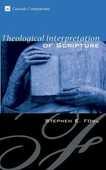 Libro in inglese Theological Interpretation of Scripture Stephen E Fowl