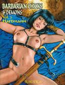 Libro in inglese Barbarian Chicks & Demons Hartmann