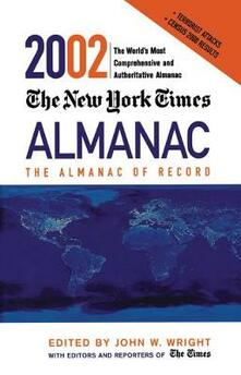 The New York Times Almanac 2002 - cover