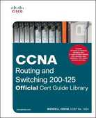 Libro in inglese CCNA Routing and Switching 200-125: Official Cert Guide Library Wendell Odom