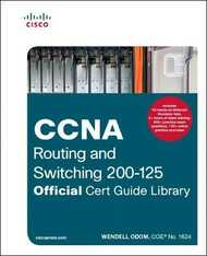 Libro in inglese CCNA Routing and Switching 200-125 Official Cert Guide Library Wendell Odom