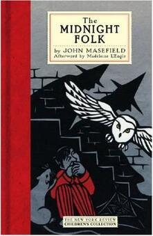 The Midnight Folk - John Masefield - cover