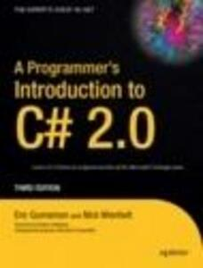 A Programmer's Introduction to C# 2.0 - Eric Gunnerson,Nick Wienholt - cover