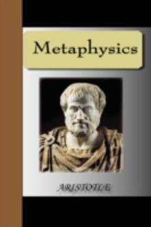 Metaphysics - Aristotle - Aristotle - cover