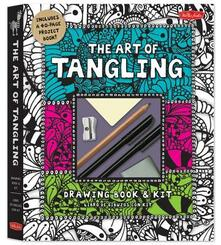 The Art of Tangling Drawing Book & Kit: Inspiring Drawings, Designs & Ideas for the Meditative Artist - Walter Foster Creative Team - cover