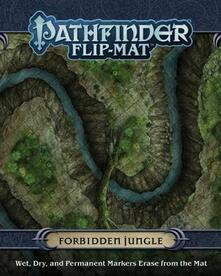 Pathfinder Flip-Mat. Forbidden Jungle