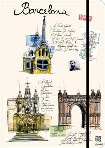 Cartoleria Taccuino City & Travel Journal Barcelona TeNeues