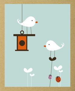 Cartoleria Cartoline e buste Flutter Sandra Isaksson Green Note TeNeues