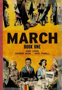 March Book One (Oversized Edition) - John Lewis,Andrew Aydin - cover