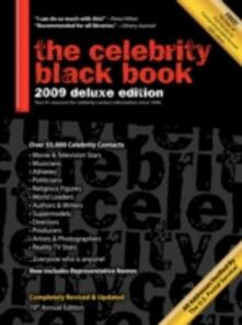 The Celebrity Black Book 2009: Over 55,000 Accurate Celebrity Addresses for Fans, Businesses, Nonprofits, Authors and the Media - Jordan McAuley - cover