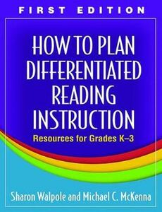 Libro inglese How to Plan Differentiated Reading Instruction Sharon Walpole , Michael C. McKenna