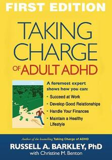 Taking Charge of Adult ADHD - Russell A. Barkley - cover