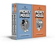 Libro in inglese Walt Disney's Mickey Mouse Vols 9 & 10: Gift Box Set Floyd Gottfredson