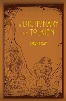 Dictionary of Tolkien - David Day - cover