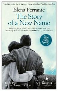 The story of a new name - Elena Ferrante - copertina