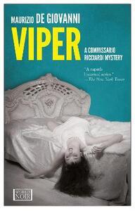 Viper. A commissario Ricciardi mystery - Maurizio De Giovanni - copertina
