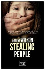 Stealing people - Robert Wilson - copertina
