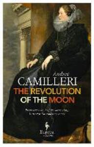 The revolution of the moon - Andrea Camilleri - copertina
