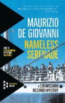 Nameless Serenade - Maurizio de Giovanni - cover