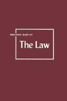 The Law - Frederic Bastiat - cover