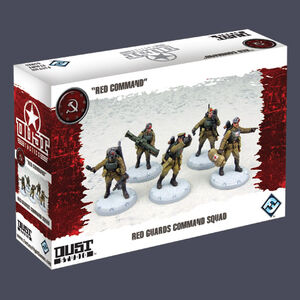 Giocattolo Dust Tactics. Red Guards Command Squad Giochi Uniti