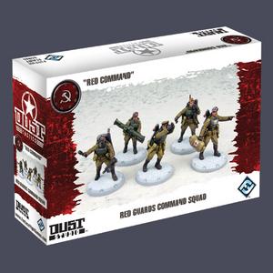 Giocattolo Dust Tactics. Red Guards Command Squad Giochi Uniti 0