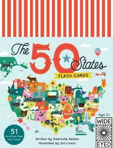 The 50 States - Flashcards - Gabrielle Balkan - cover
