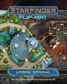 Starfinder Flip-Mat. Urban Sprawl