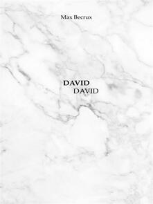 David David - Max Becrux - ebook