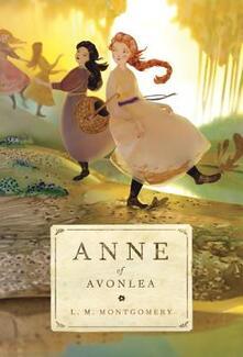 Anne of Avonlea - L M Montgomery - cover