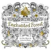 Libro in inglese Enchanted Forest: An Inky Quest & Coloring Book