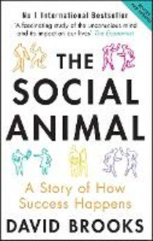 The Social Animal: A Story of How Success Happens - David Brooks - cover
