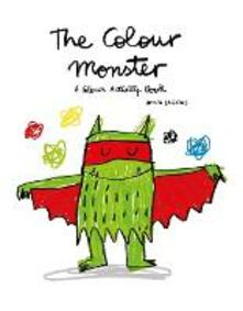 The Colour Monster: A Colour Activity Book - Lupita Books - cover