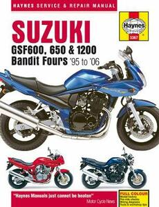 Suzuki Gsf600, 650 & 1200 Bandit Fours: 95-06 - Haynes Publishing - cover