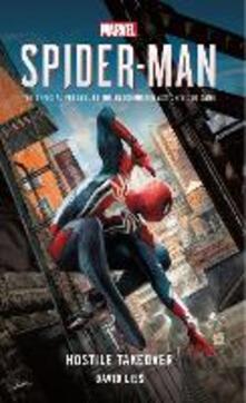 Marvel's SPIDER-MAN: Hostile Takeover - David Liss - cover