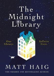 The Midnight Library - Matt Haig - cover