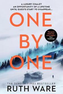One by One - Ruth Ware - cover