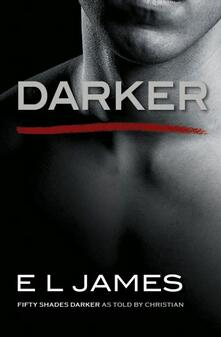 Darker: 'Fifty Shades Darker' as told by Christian - E L James - cover