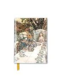 Rackham: Alice In Wonderland Tea Party (Foiled Pocket Journal) - cover