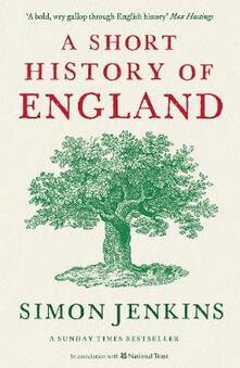 A Short History of England - Simon Jenkins - cover