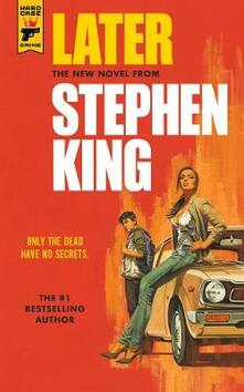 Later - Stephen King - cover