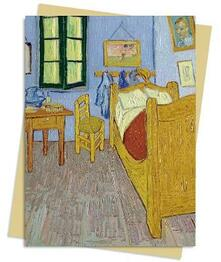 Vincent van Gogh: Bedroom at Arles Greeting Card: Pack of 6 - cover