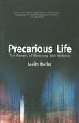 Libro in inglese Precarious Life: The Power of Mourning and Violence Judith Butler