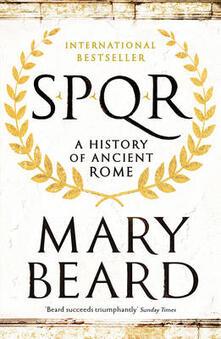 SPQR: A History of Ancient Rome - Mary Beard - cover