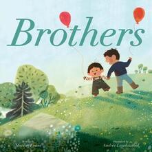 Brothers - Harriet Evans,Andres Landazabal - cover