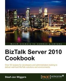 BizTalk Server 2010 Cookbook - Steef-Jan Wiggers - cover