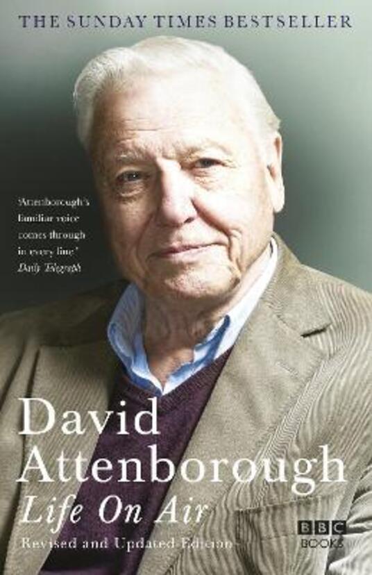 Life on Air - David Attenborough - cover