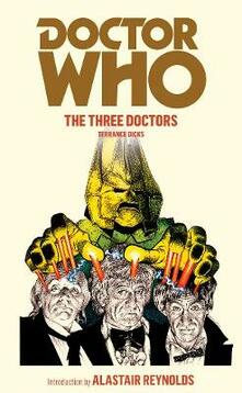 Doctor Who: The Three Doctors - Terrance Dicks - cover