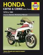 Libro in inglese Honda CB750 and CB900 Fours 749cc, 901cc, 1978-84 Owner's Workshop Manual Pete Shoemark